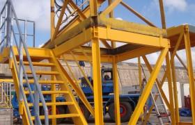 Modular stair tower for Workfox