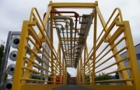 Modificatie Seafox-gangway