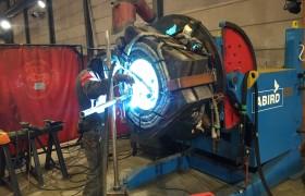 Fabricage onderdelen upending tool