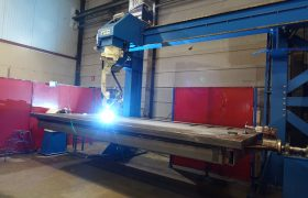 Abuco welding robot fully in production!